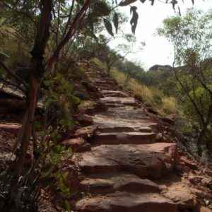 Steintreppe, Kngs Canyon, Northern Territory