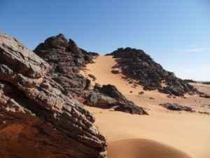 Steinwüste, Libyen