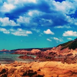 Strand, Korsika, Frankreich