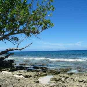 Strand in Papua-Neuguinea
