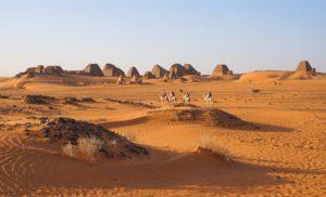 Pyramiden von Meroe, Sudan