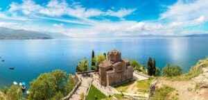 Felsenkirche Sveti Jovan Kaneo in Ohrid