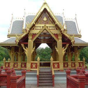 Tempel im Hamburger Zoo, Hamburg