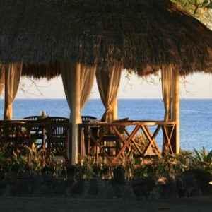 Terrasse, Bali, Indonesien