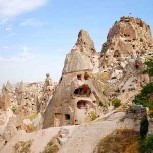 Uchisar, Cappadocia, Türkei