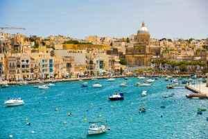 Valletta Hafen