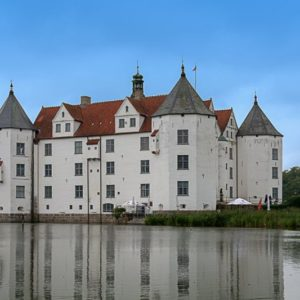 Wasserschloss Glücksburg, Schleswig-Holstein, Deutschland