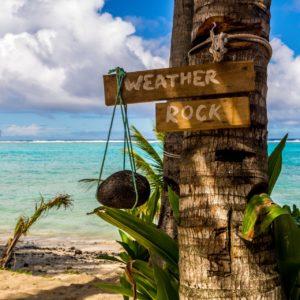 Wetterbestimmung auf den Cookinseln