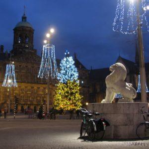 Weihnachtsmarkt, Amsterdam, Niederlande