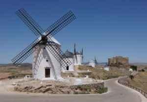 Windmühlen, Kastilien La Mancha