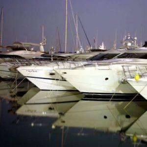 Yachten im Hafen, Marbella