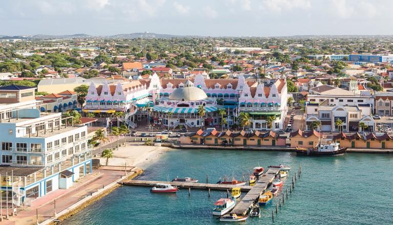 Aruba-Oranjestad-Festung-Zoutman