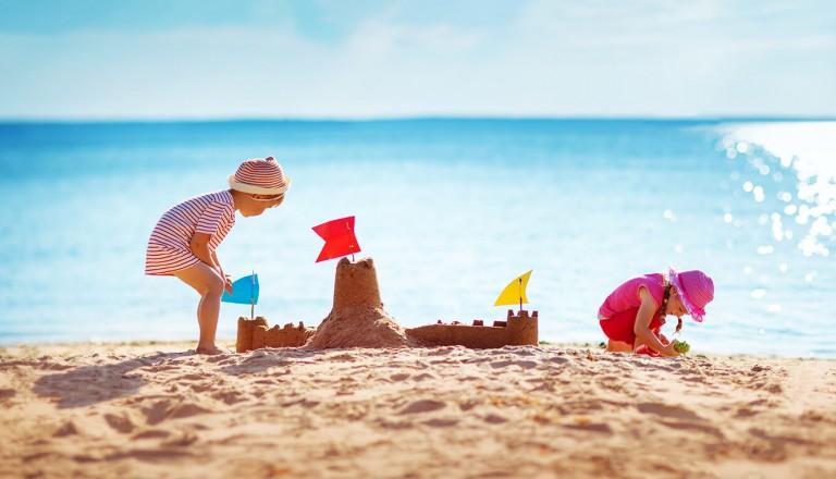 Badeurlaub - Kindern