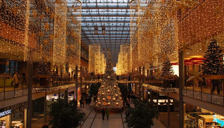 Berlin - shopping on Christmas