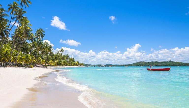 Brasilien-Itapua-Beach
