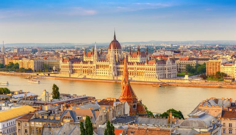 Budapest-Burgpalast.