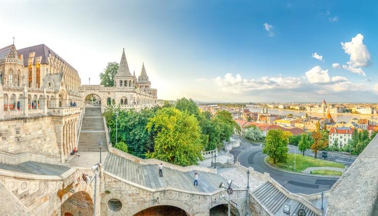 Budapest-Fischerbastei.