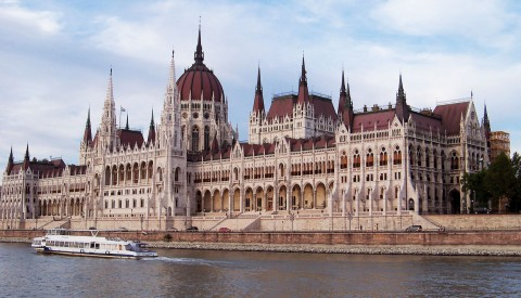 Budapest- Parlament.