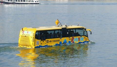 Budapest - Stadtrundfahrt Amphibienbus