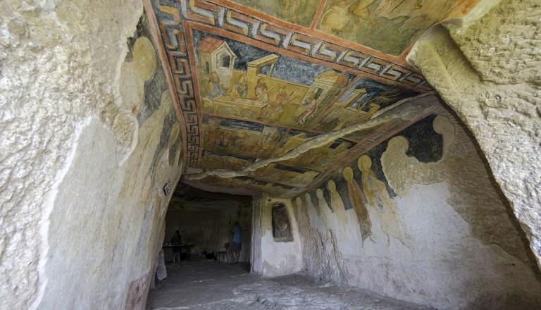 Bulgarien-Felskirchen-von-Iwanowo
