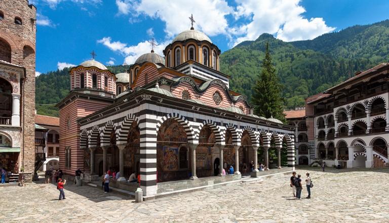 Bulgarien-Kloster-Rila
