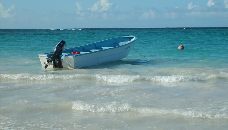 Dominikanischen Republik - Playa Caleton - Río San Juan