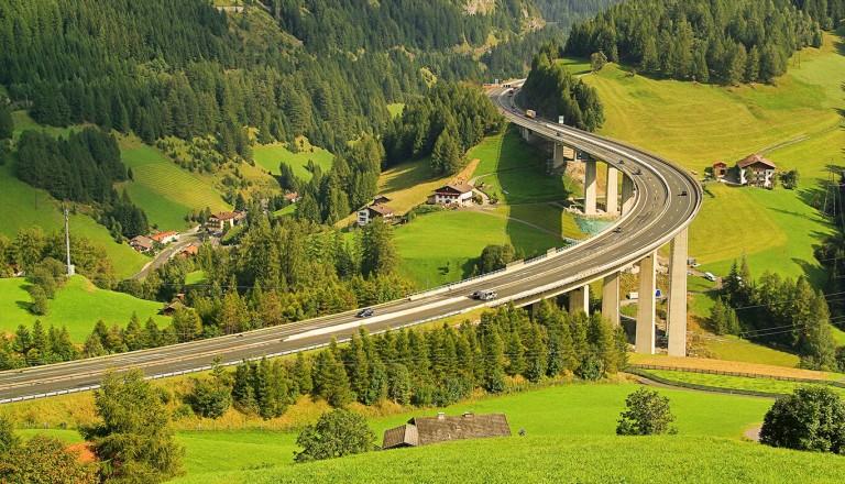 Eigenanreise - Brenner nach Italien