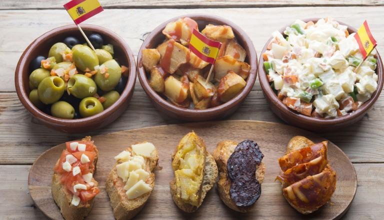 Kulinarisch-Spanien-Essen