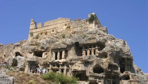 Fethiye - Tlos-kalesar