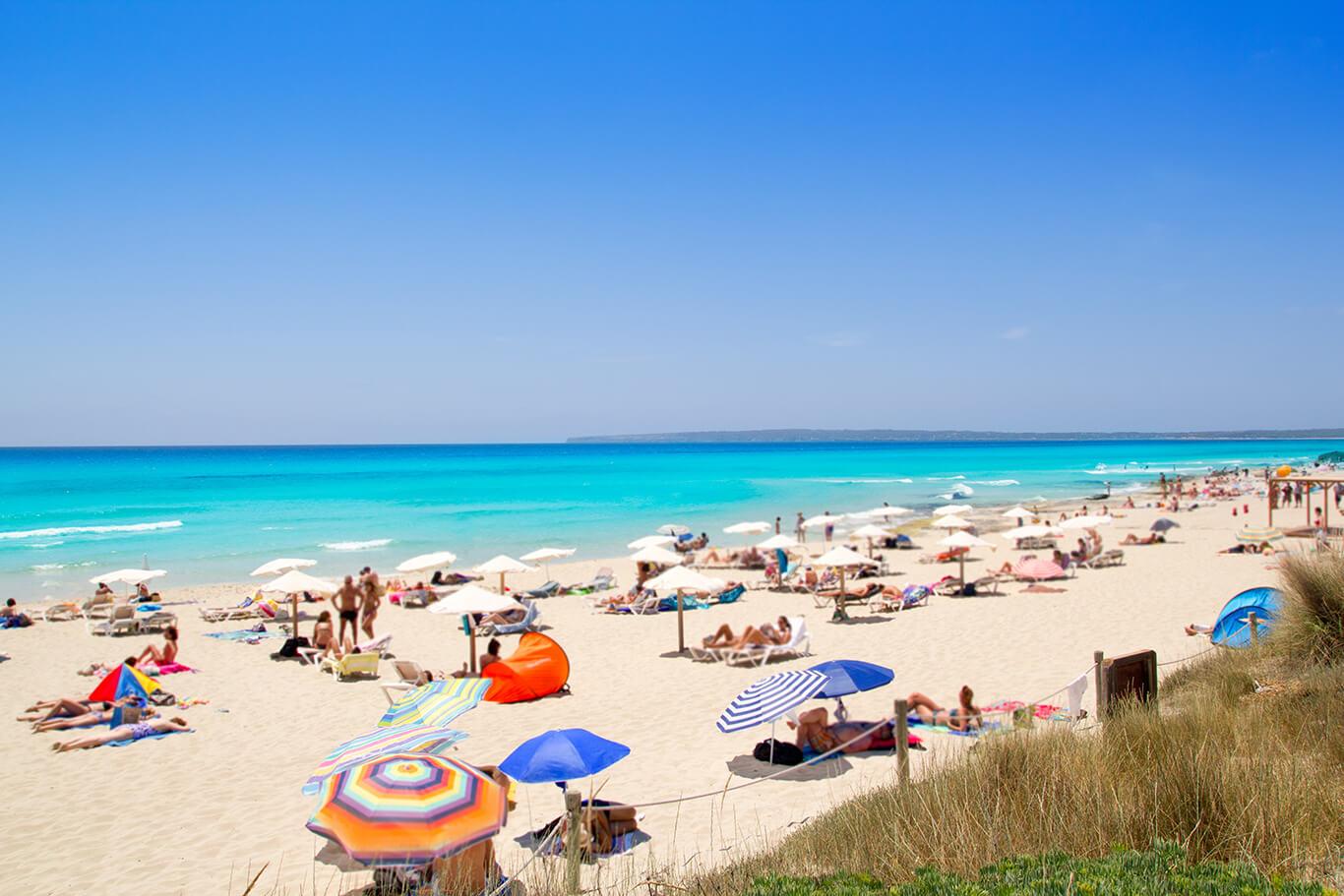 Formentera - Playa Es Arenals
