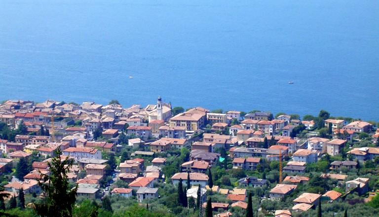 Bild vom Gardasee in Italien