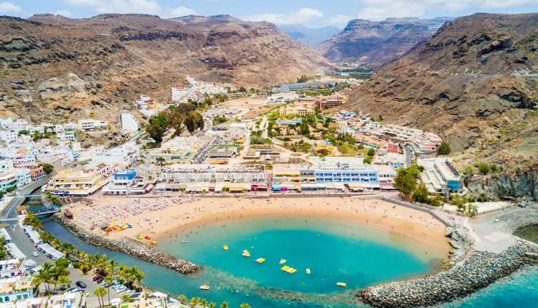 Gran Canaria - Playa de Puerto de Mogan