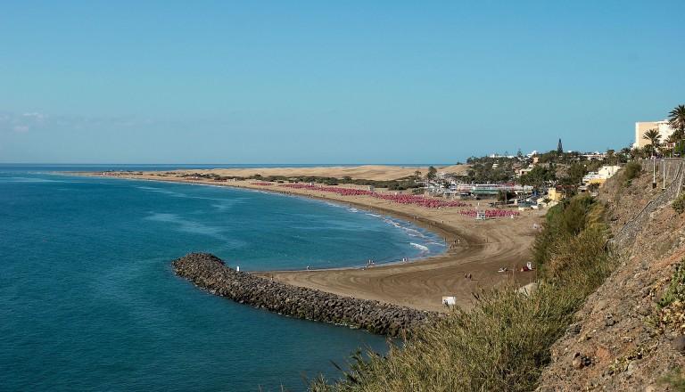 Gran Canaria - Playa_del_ingles_beach