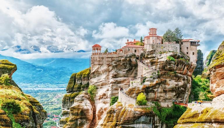 Griechenland - Meteora Kloester