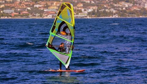 Gümbet - Windsurfing