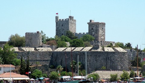 Gumbet - St Peter castle