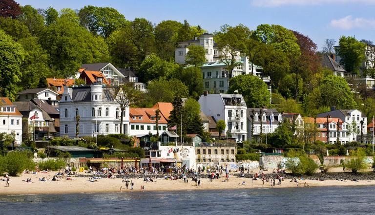 Hamburg - Elbstrand