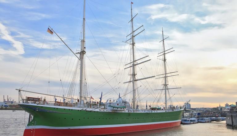 Hamburg - Museumsschiff Rickmer Rickmers