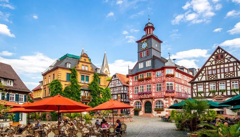 Sommerzeit in deutschen Städten