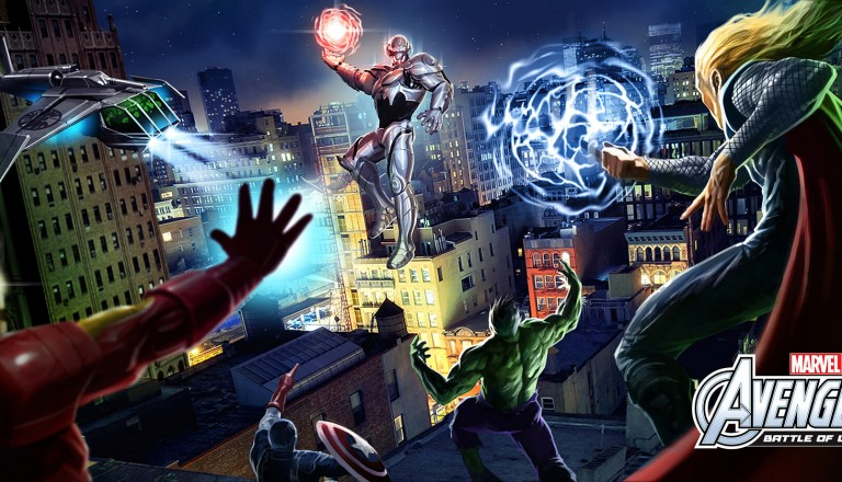 IMG Worlds Of Adventure - The Avengers Battle of Ultron ride