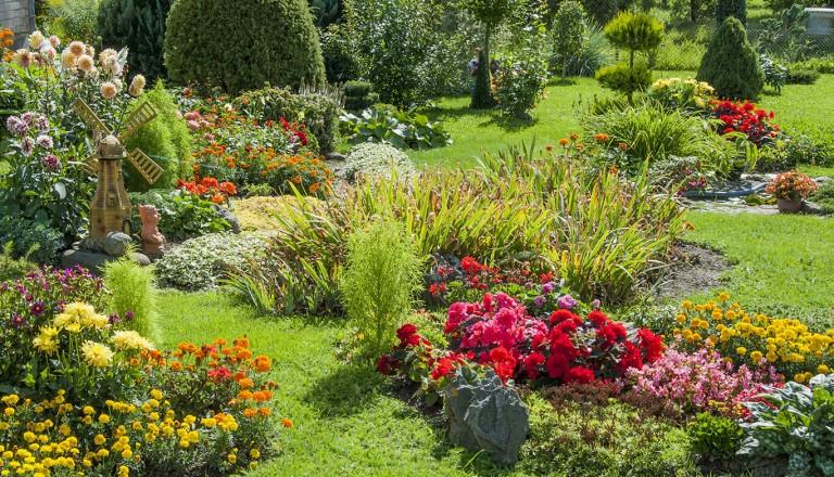 Indien - Garden of Five Senses
