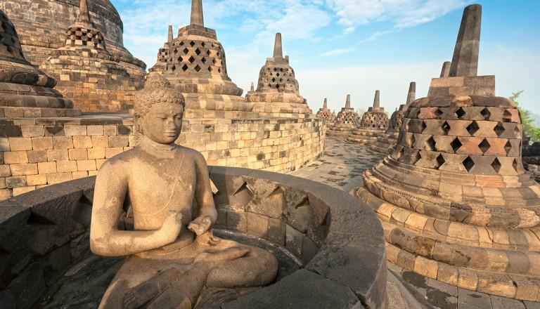 Indonesien - Borobudur