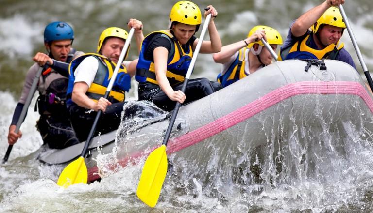 Island - Rafting Tour