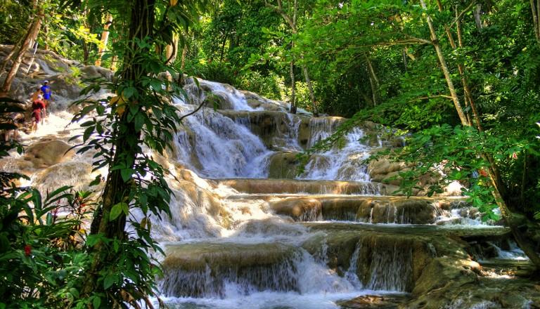 Jamaika-Dunns-River-Falls-und-Park