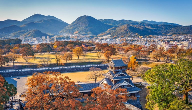 Japan-Burg-Kumamoto