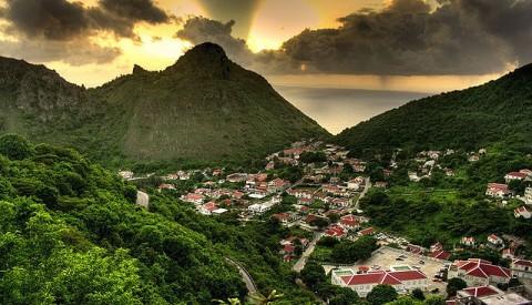 Karibik -Saba
