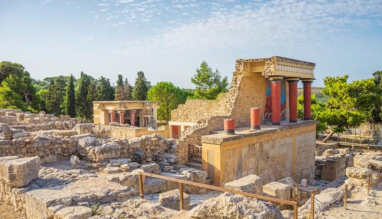 Kreta-Der-Palast-Knossos
