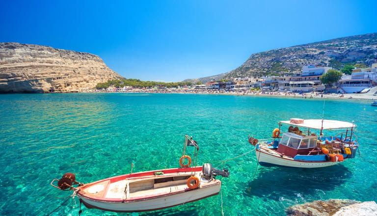 Kreta-Matala-Strand