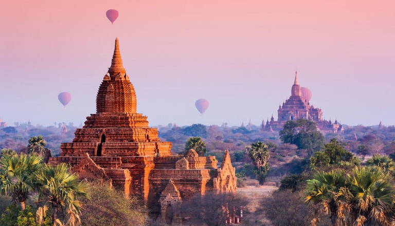 Kreuzfahrt- Irrawaddy - Bagan