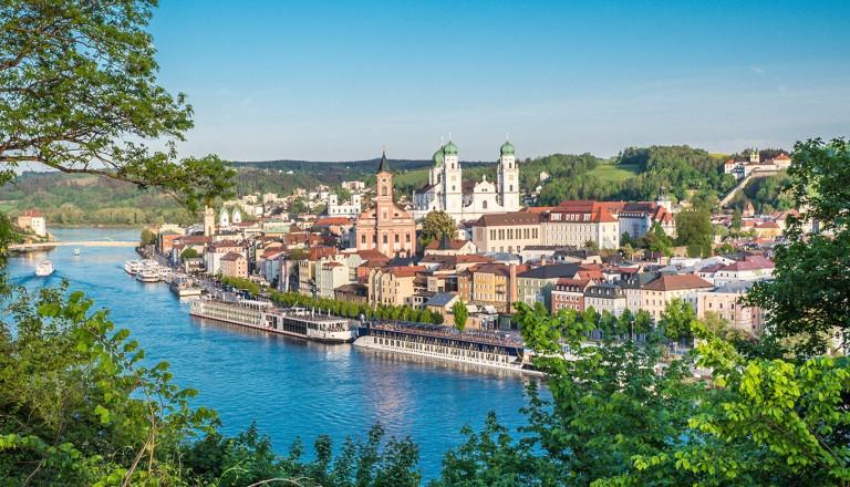 Kreuzfahrten - Donau - Passau